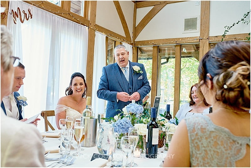 father of the bride speech at the oak tree of peover wedding