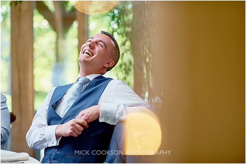 best man laughing