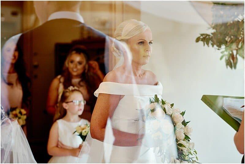 white hart lydgate wedding photo