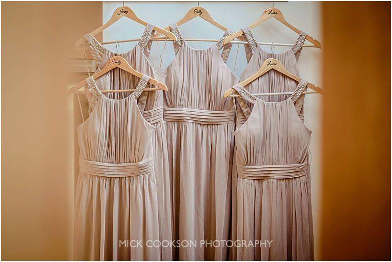 bridesmaids dresses at the fisherman's retreat