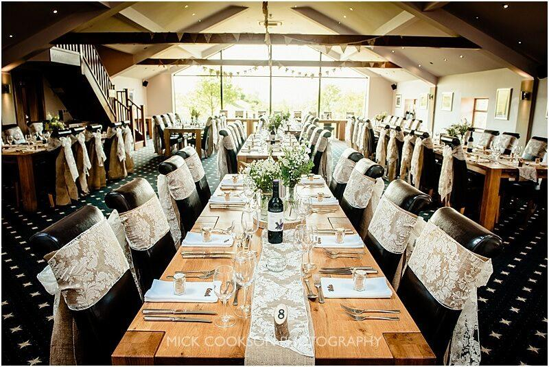 the fishermans retreat set for a wedding