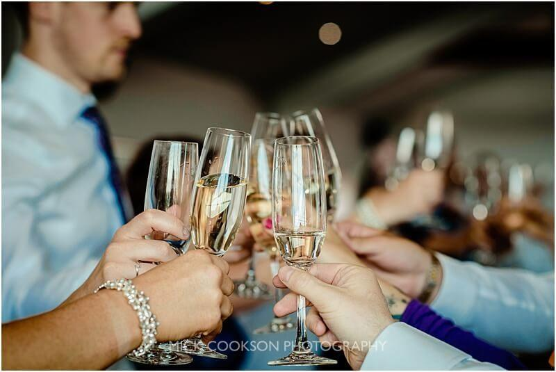 wedding toasts at the fishermans retreat