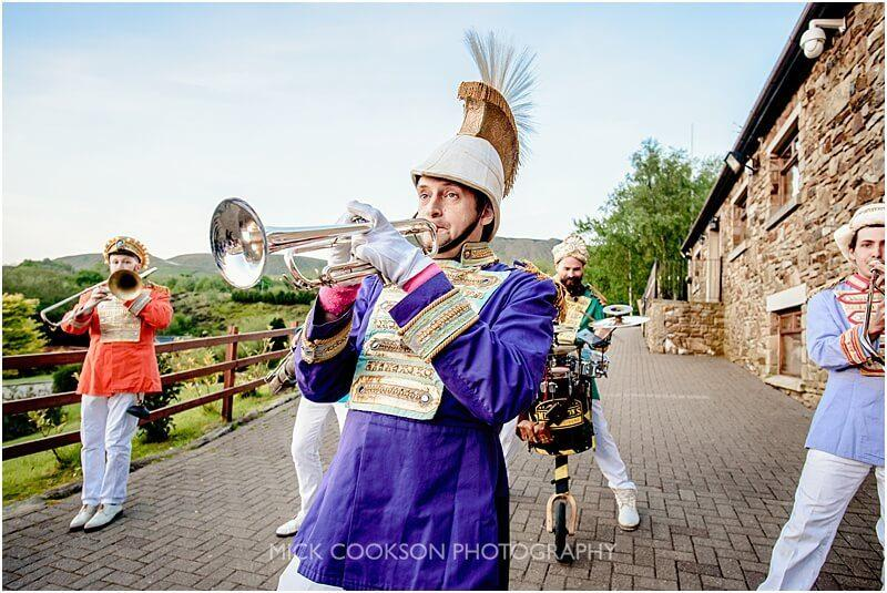 mr wilsons second liners performing at the fishermans retreat by mick cookson photography