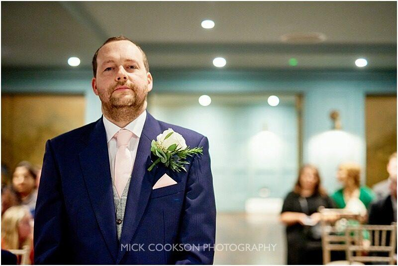 anxious groom at king street town house