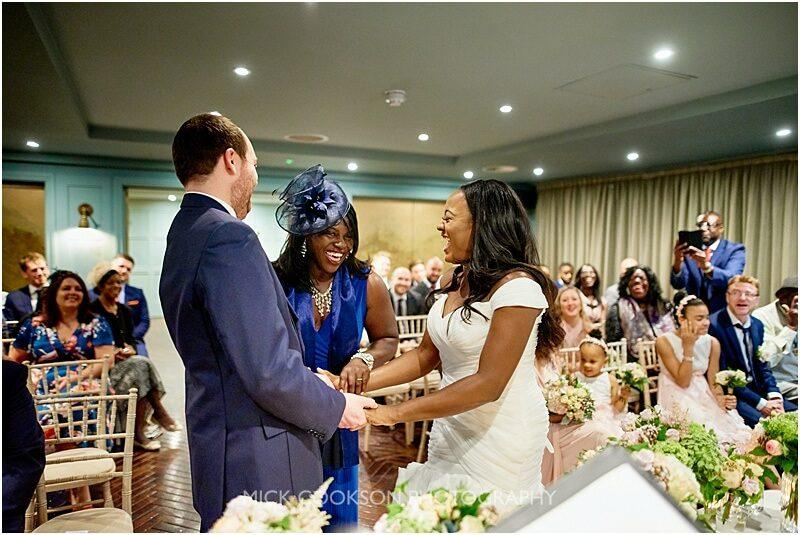 funny ceremony moment at king street town house