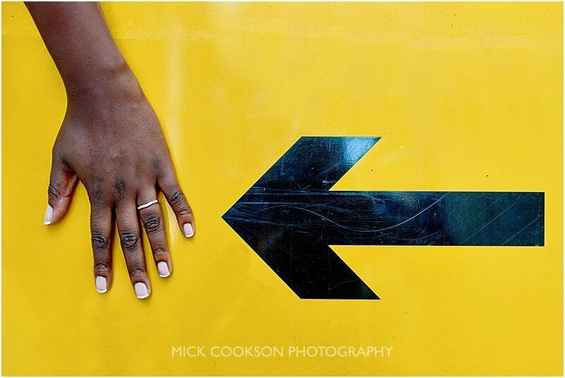 funky wedding ring photo taken by manchester wedding photographer mick cookson
