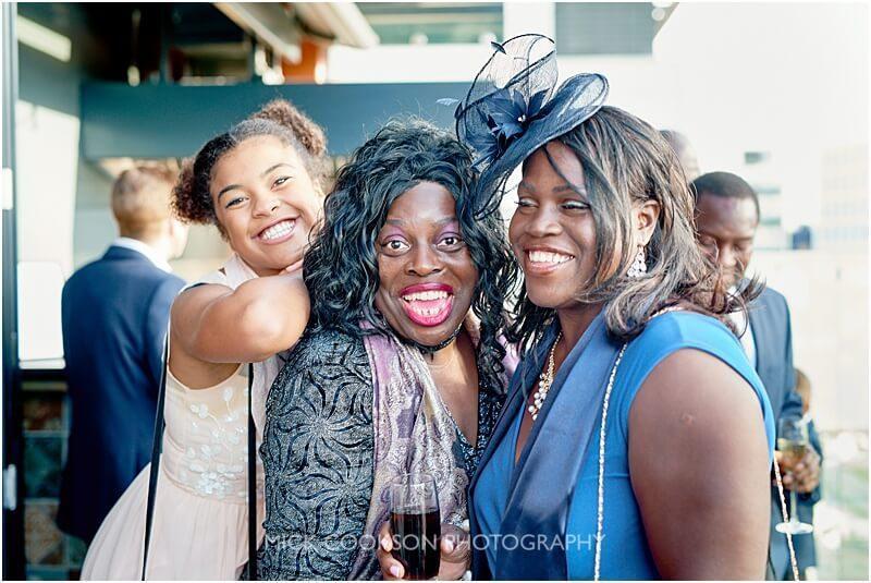 big smiles at a king street townhouse wedding