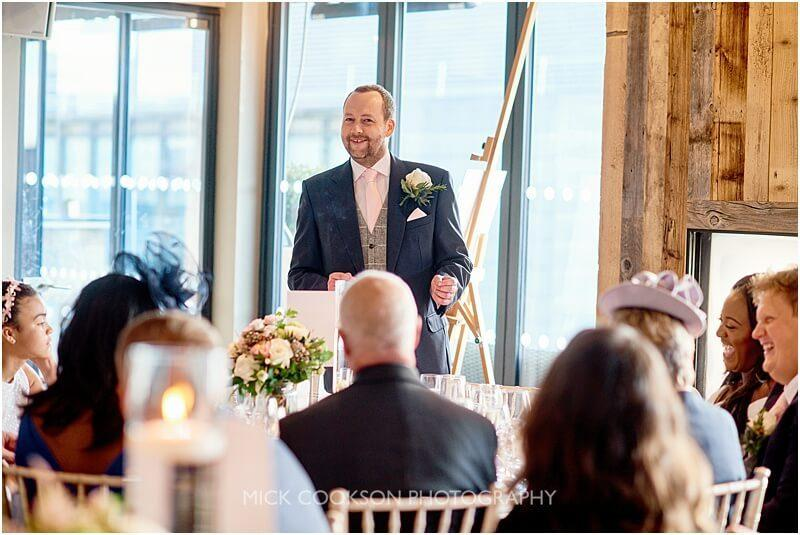 speeches at a king street townhouse wedding