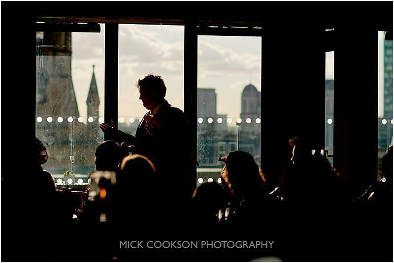 stylish best man wedding photo by mick cookson