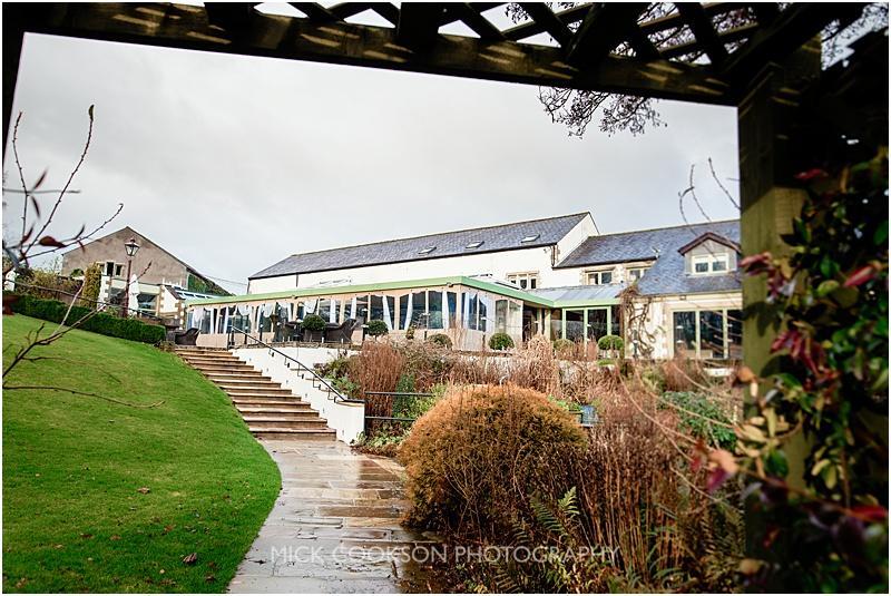 gibbon bridge hotel in the rain