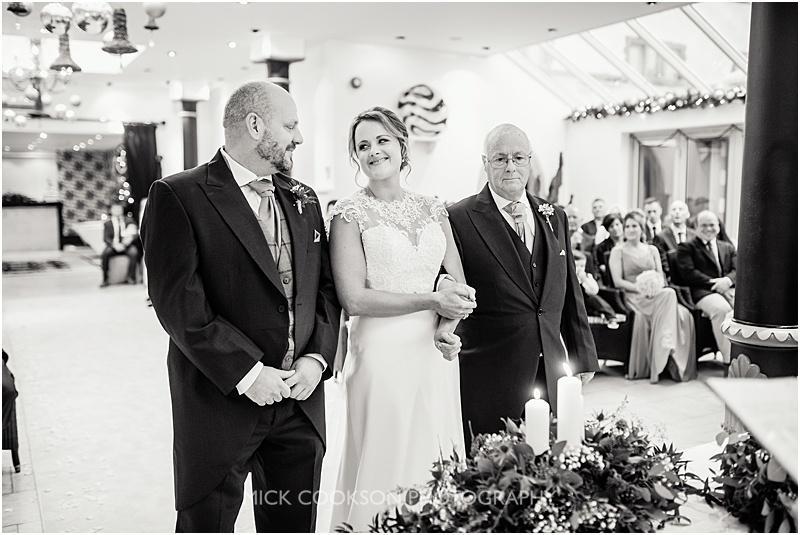 gibbon bridge winter wedding