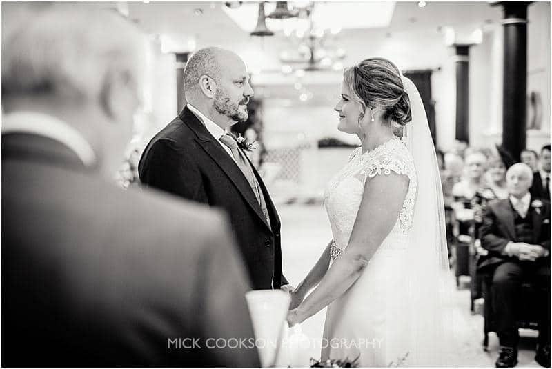 wedding vows at gibbon bridge