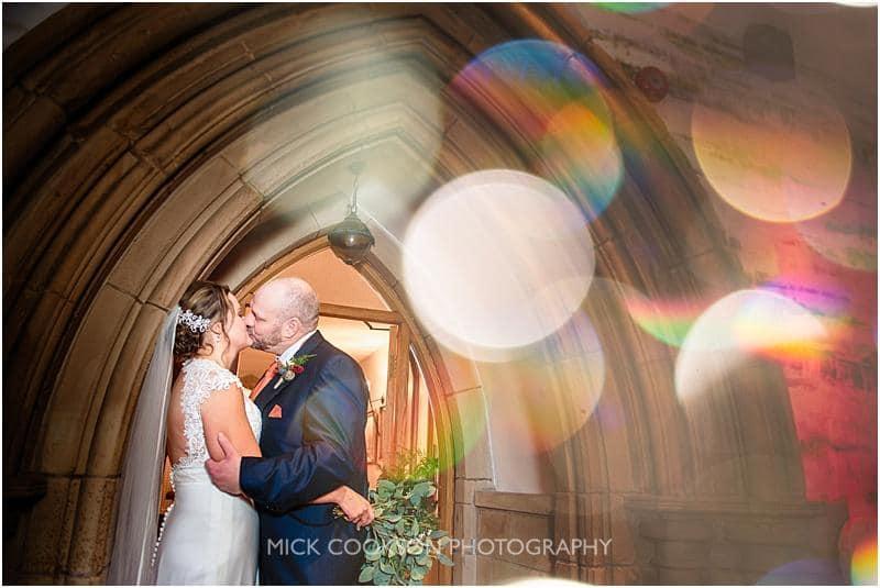 wedding photography at gibbon bridge by mick cookson