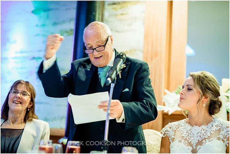 father of the bride speech at a gibbon bridge winter wedding