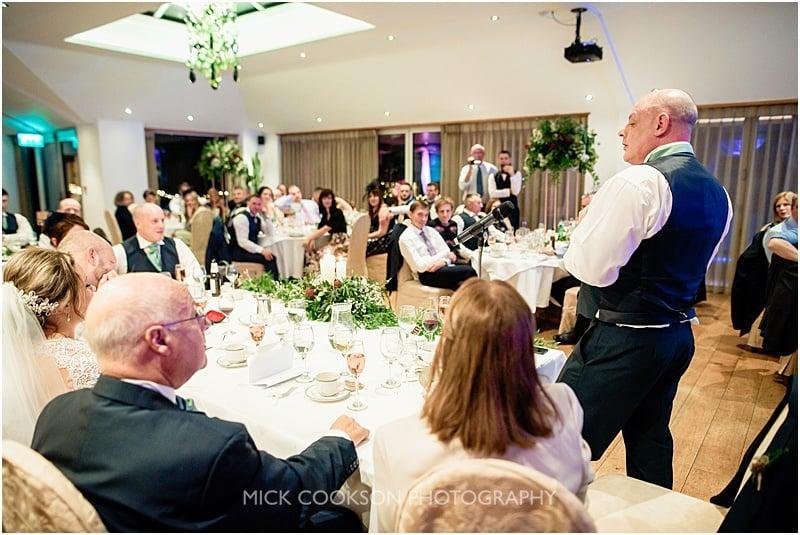 best man speech at a gibbon bridge winter wedding